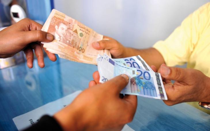 ارتفاع الدرهم بالمقارنة مع الأورو وانخفاضه في مواجهة الدولار