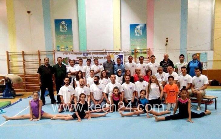 المغرب يحتضن التدريب الدولي للجمباز بمشاركة أطر مراكشية + صور