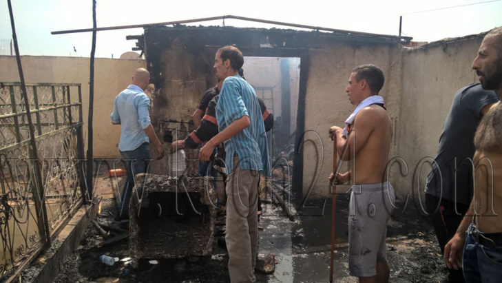 اندلاع حريق بمنزل بالمدينة العتيقة لمراكش + صور