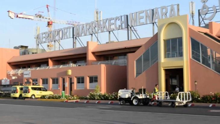 انخفاض في حركة المسافرين بمطار مراكش المنارة