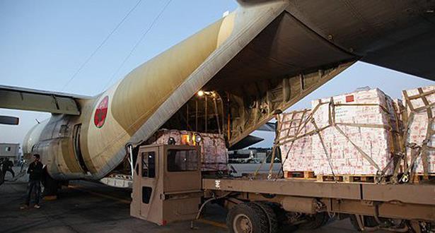 إقلاع طائرة ثانية محملة بمساعدات إنسانية لبوركينافاسو المتضررة من الفيضانات