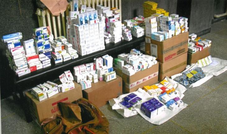 الشرطة القضائية تحجز كمية كبيرة من المواد الطبية والصيدلانية المهربة