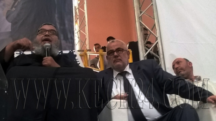 حماد القباج يعتلي منصة المهرجان الخطابي لـ
