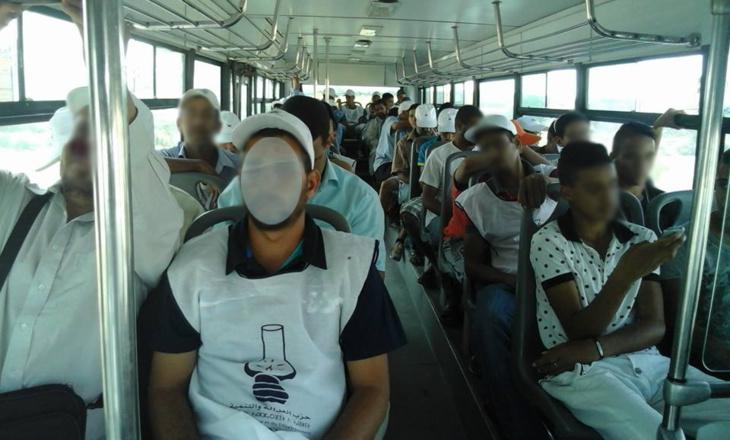 البيجيدي يخصص حافلات النقل الحضري بمراكش لتقل أنصاره لمهرجان بنكيران الخطابي