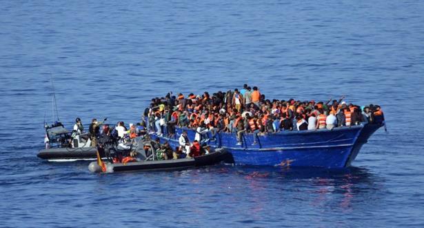 إنقاذ أزيد من 6000 مهاجر من البحر المتوسط في يوم واحد والعثور على 22 جثة