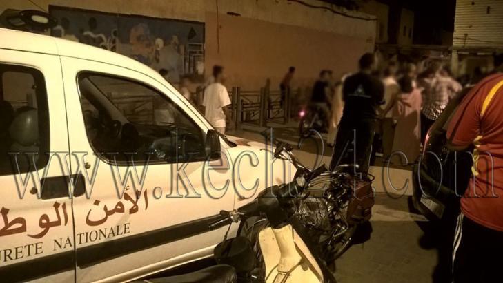 عاجل: إعتقال مبحوث عنه من أجل السرقة بالعنف بحي باب دكالة بمراكش