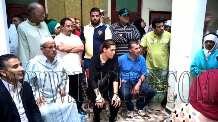 المنصوري تواصل قيادة حملتها الانتخابية بلقاء تواصلي جديد مع ساكنة المدينة العتيقة لمراكش