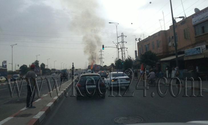 عاجل: اندلاع حريق داخل مبنى يعود لشركة بمراكش + صور