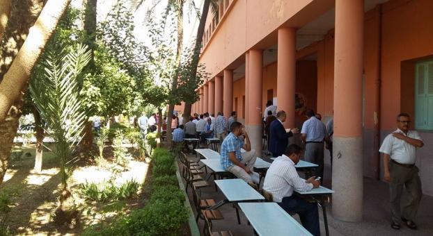 إغلاق مراكز التصويت بعمالة مراكش في هذه الأثناء