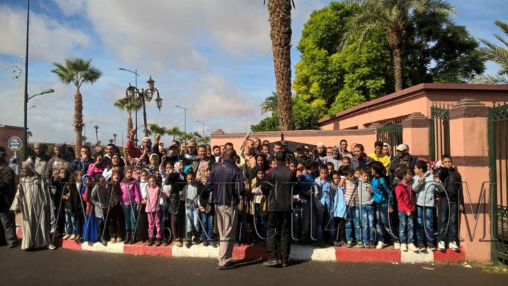 مسيرات و احتجاجات يومية بمراكش بسبب مشاكل الدخول المدرسي