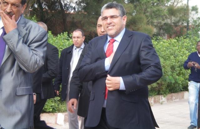 وزير العدل يقوم بزيارة مفاجئة للمركب القضائي بمراكش
