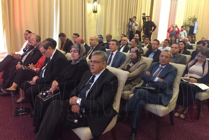 إنطلاق اشغال الندوة الدولية لاكاديمية المملكة المغربية بمراكش حول التغيرات المناخية + صور