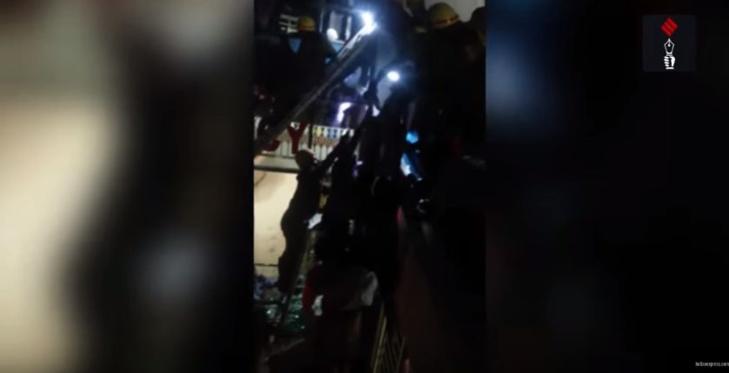 مقتل 19 شخصا في حريق في وحدة غسيل الكلى بمستشفى بالهند + فيديو