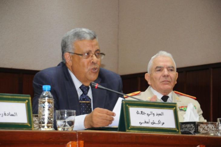 الوالي لبجيوي يشرف على تنصيب عبد المجيد العشاوي قائدا بسيد الزوين نواحي مراكش
