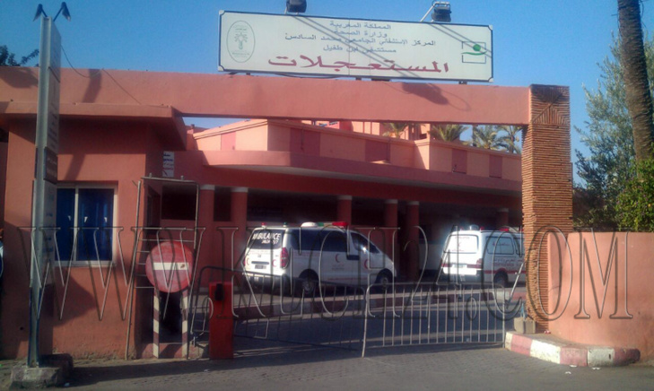 شرطية مرور تتعرض لاصابات في حادثة سير بمدينة مراكش