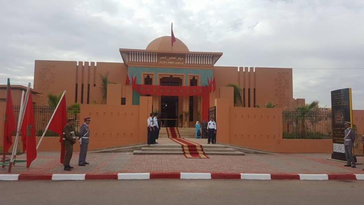 وزير العدل والحريات يشرف على تدشين مركز القاضي المقيم ببلدية سيدي رحال + صور