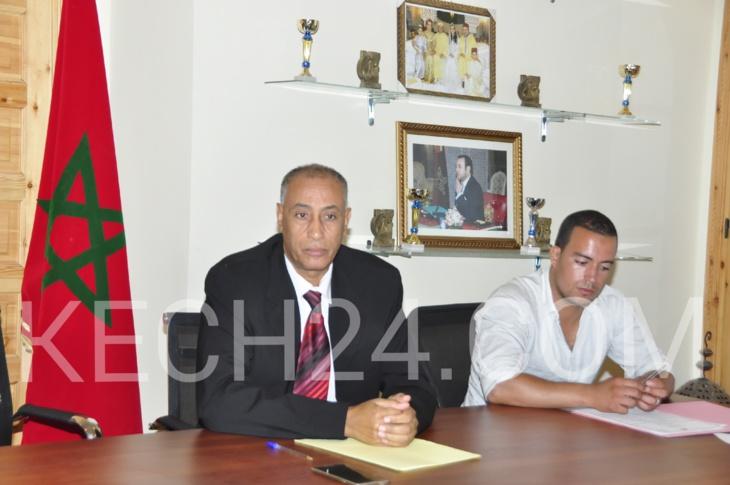 رئيس جماعة واحة سيدي ابراهيم يتهم المعارضة بنسف دورة أكتوبر ومناهضة مصلحة البلاد