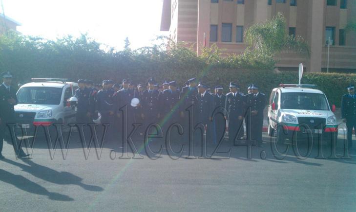 هذه فرقة شرطة النجدة التي ستكون رهن إشارة المراكشيين على الخط