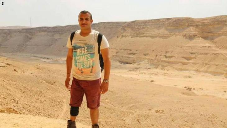 مصري يعاني الشلل يستعد لتسلّق