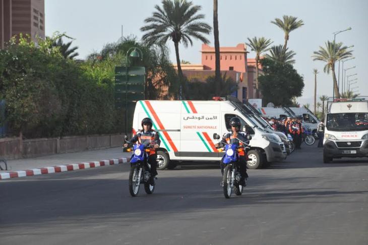 ولاية امن مراكش تكشف تفاصيل عن عمل الوحدة المتنقلة لشرطة النجدة