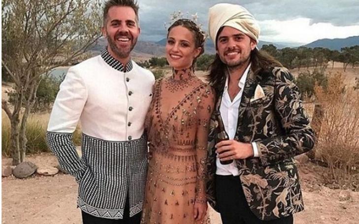 هكذا احتفلت الأمريكية ديانا أغرون والنجم وينستون مارشال بزواجهما في مراكش