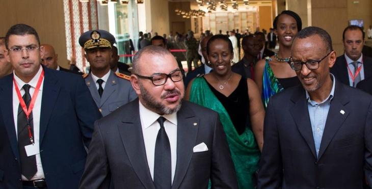 الملك محمد السادس يغادر رواندا متوجها إلى تنزانيا