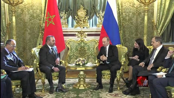 بوتين يرهن زيارته لمراكش بدعم رئاسته لمجلس الأمن