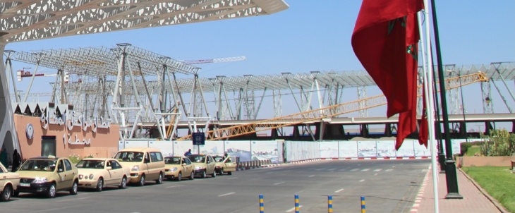 إنخفاض حركة المسافرين بمطار مراكش المنارة الدولي