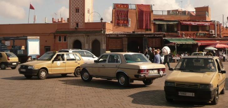 عاجل: سرقة سيارة أجرة من الحجم الكبير بحي المحاميد بمراكش