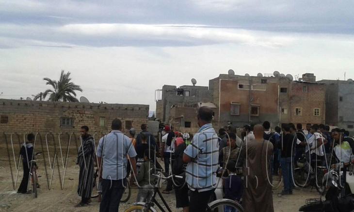 ساكنة عرصة بومنقار بمراكش يحتجون بسبب إنتشار الازبال والروائح الكريهة + صور