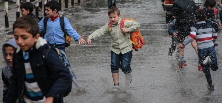 مقاييس التساقطات المطرية المسجلة خلال لـ24 ساعة الماضية