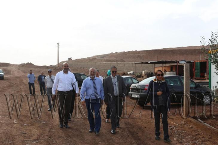 أعضاء المجلس الجماعي لمراكش يطلعون على سير أشغال المشاريع التنموية بالمدينة