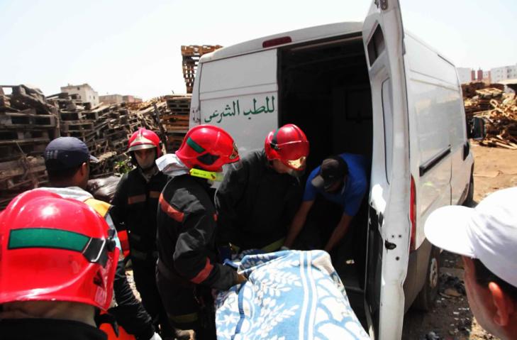 مصرع عامل بناء بعد سقوطه من ورشة بناء بقلعة السراغنة