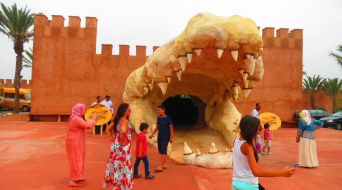 حديقة التماسيح بأكادير تنظم معرضا للمصور هانس سيلفيستر بمناسبة إنعقاد
