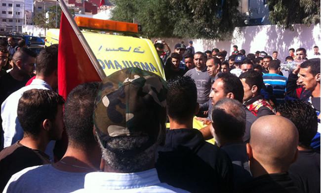 الألاف من المواطنين يشيعون بمدينة الحسيمة جثمان محسن فكري بائع السمك