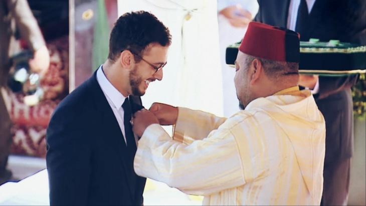 عاجل: الملك محمد السادس يكلف محاميه الخاص للدفاع عن سعد المجرد ويتكلف بأتعابه