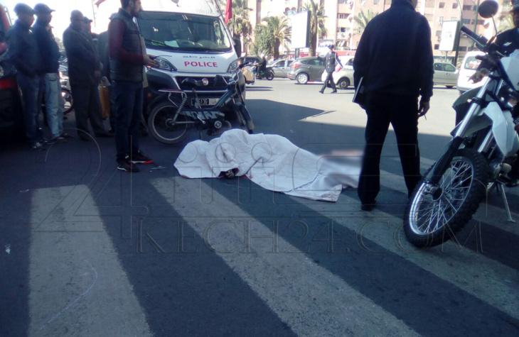 عاجل: مصرع أربعيني في حادثة سير مروعة بمراكش + صور