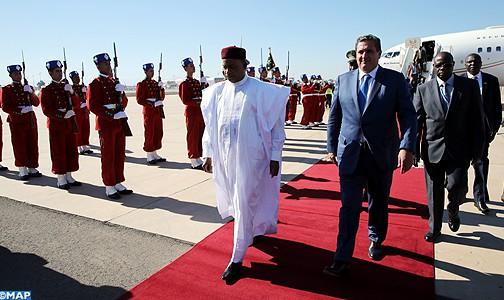 رئيس جمهورية النيجر يحل بمراكش للمشاركة في مؤتمر كوب 22