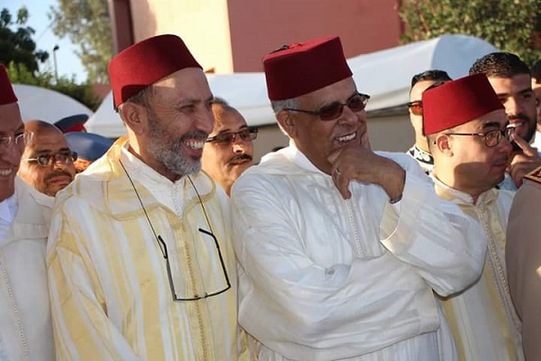 الملك محمد السادس راضي على المراكشيين والوالي لبجيوي والعمدة بلقايد وعناصر الأمن