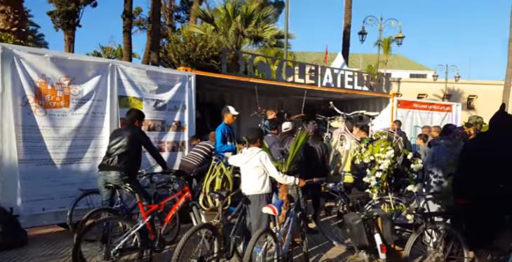 مبادرة إصلاح الدراجات بالمجان خلال