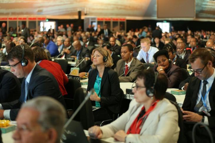 المفاوضون ينهون محادثاتهم في مؤتمر مراكش المناخي بعد