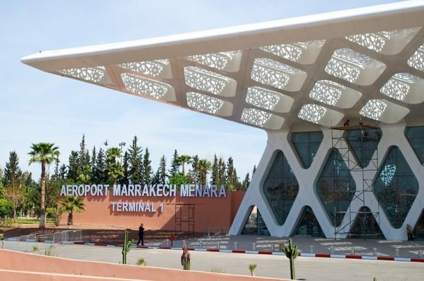 سائحة أجنبية تفارق الحياة بمطار مراكش المنارة