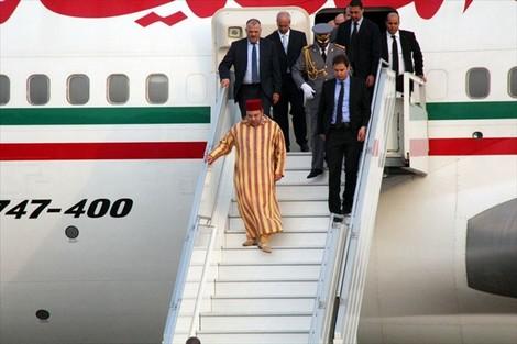 حفل استقبال رسمي على شرف الملك محمد السادس بأديس ابابا