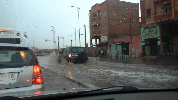 نشرة خاصة: اضطرابات جوية وأمطار في جل ربوع المملكة