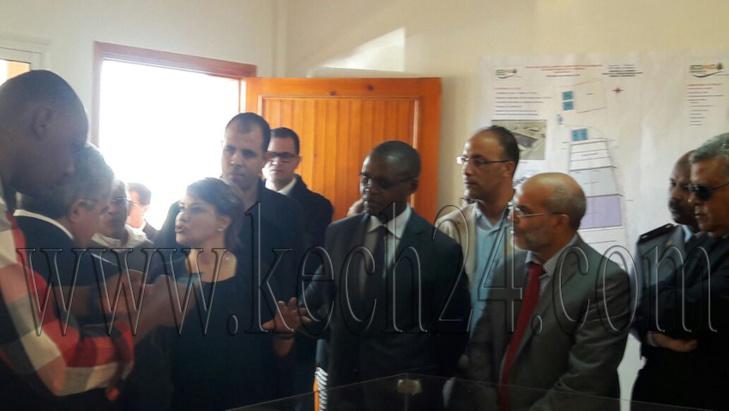 الوزيرة الحيطي تتفقد المطرح العمومي بجماعة المنابهة نواحي مراكش + صور
