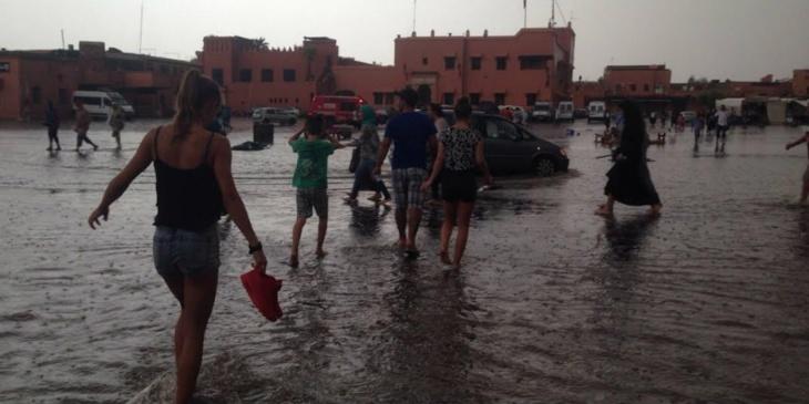 هذه مقاييس الأمطار المسجلة بأكثر من 20 مدينة خلال الـ 24 ساعة الماضية