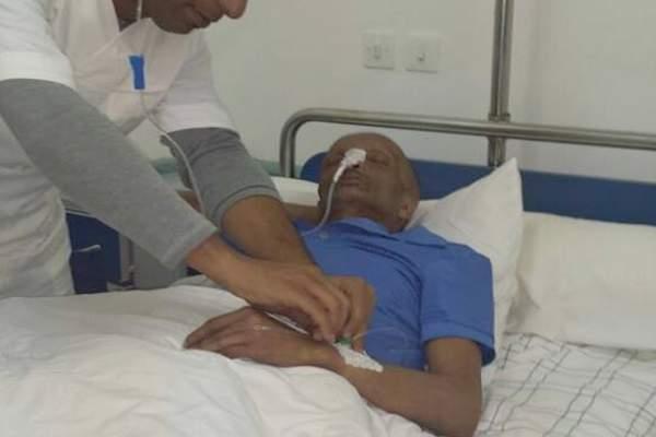 الفنان الكوميدي جواد السايح ينقل الى المستشفى بعد أزمة صحية مفاجئة ألمت به