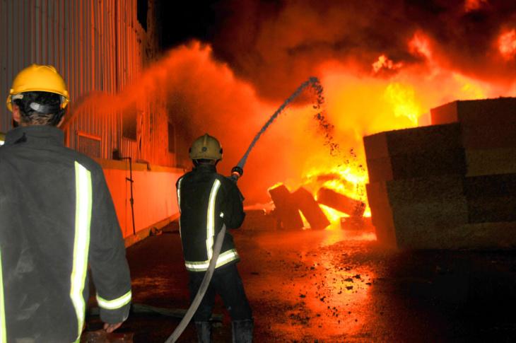 اندلاع حريق بمعمل للخياطة بالحي الصناعي بمراكش