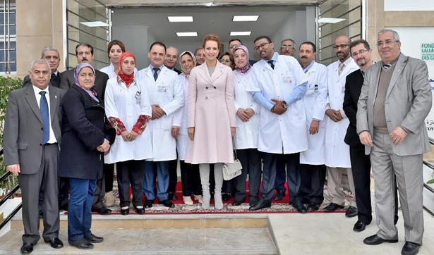 الأميرة للا سلمى تعطي انطلاقة حملة تحسيسية للكشف المبكر عن سرطان الثدي وتدشن مركزا لرصد المرض مبكرا