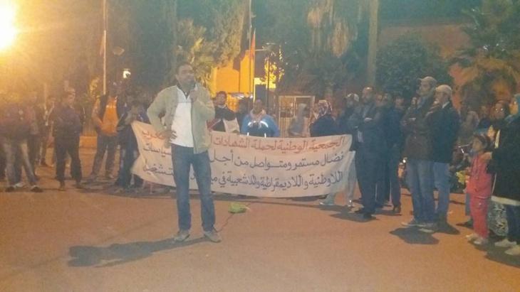 إدانة معطل بالسجن النافذ تخرج ساكنة اليوسفية للإحتجاج